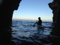 A small cave near Sunset Cliffs