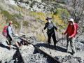 Hiking along the Gem Lake rail track