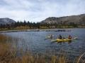Kayaking on June Lake