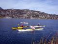 Paddling on June Lake