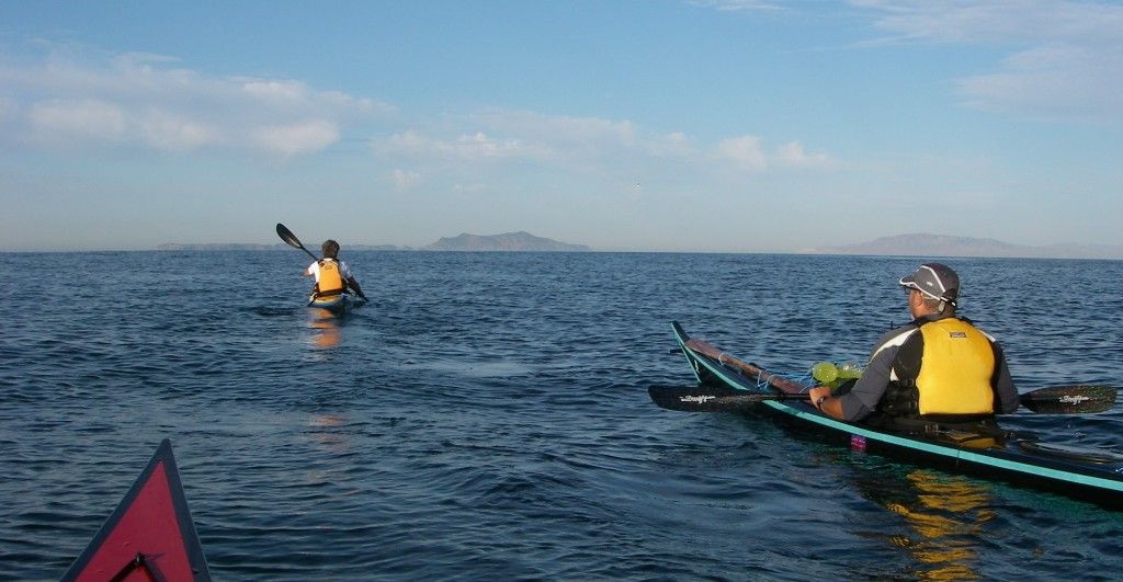 Crossing to Anacapa Island