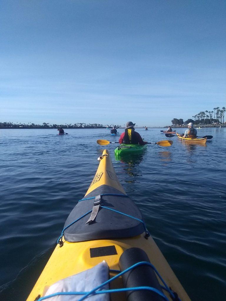 Learn to sea kayak san diego